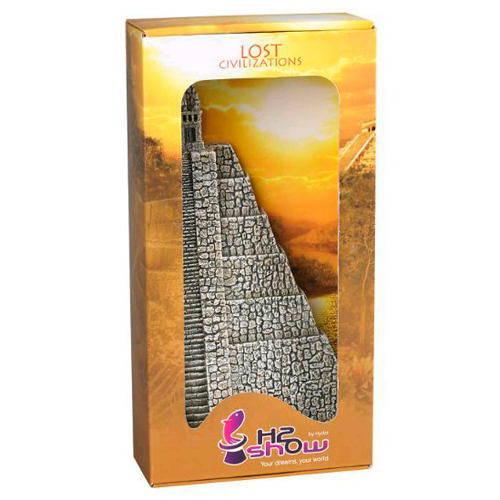 Civilizaciones Perdidas Pirámide Azteca decoración para acuarios