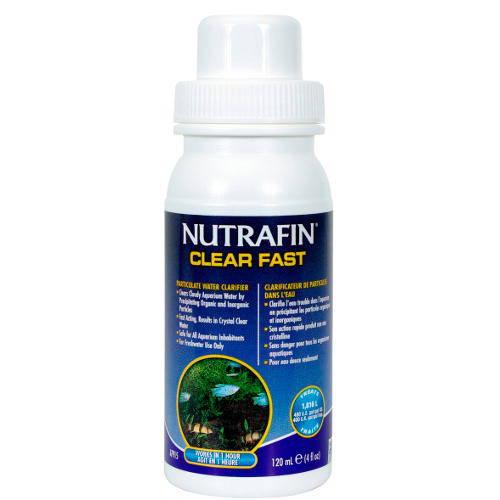 Clarificador rápido Nutrafin para acuarios de agua dulce