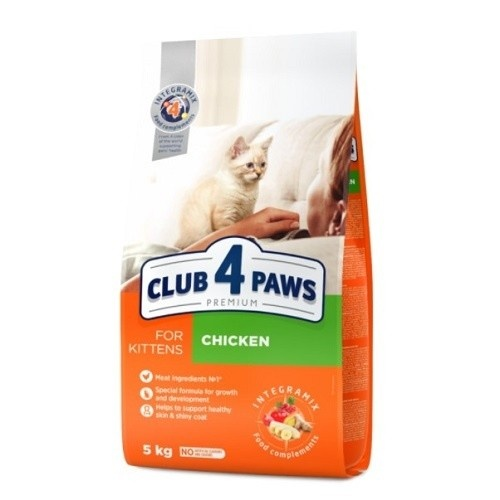 Club 4 Paws Pienso seco para gatitos Pollo