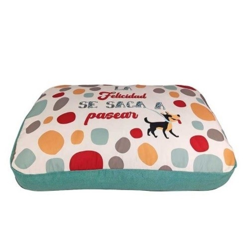 Colchón de diseño Happy Felicidad para perros color Gris