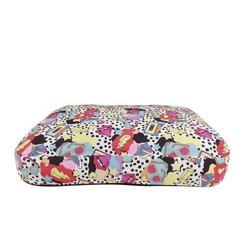 Colchón de diseño Happy Lola para perros color Multicolor