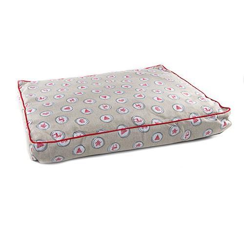 Colchoneta cama para perros y gatos TK-Pet Christmas Design