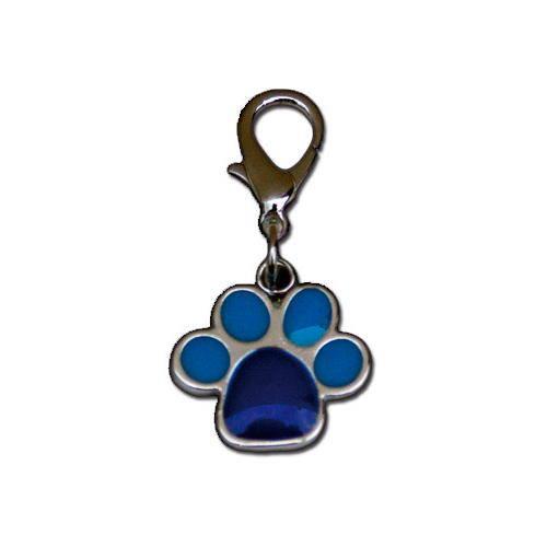 Colgante para perros: Huella esmaltada
