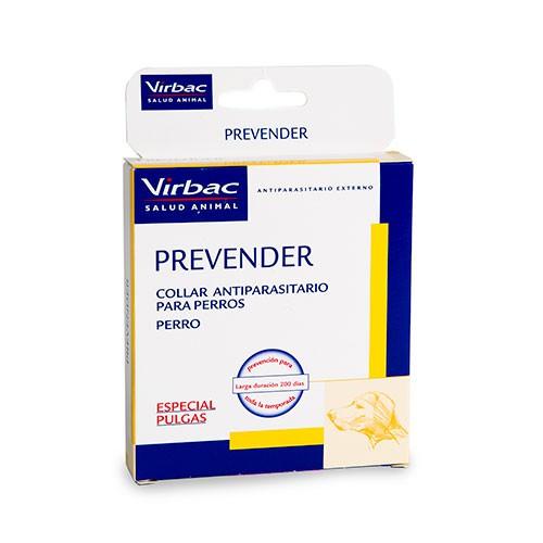 Collar antiparasitario especial pulgas para perros Prevender
