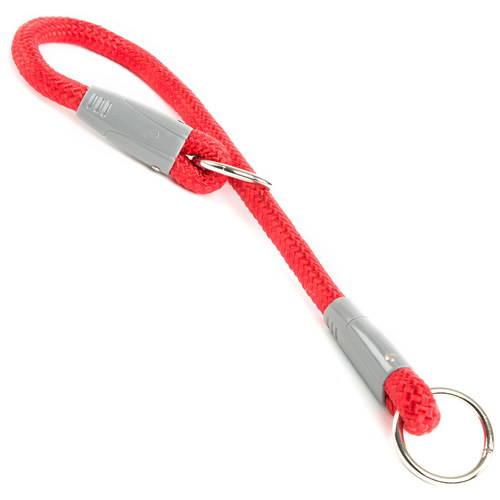 Collar de entrenamiento nylon redondo para perros Varios colores Color Rojo
