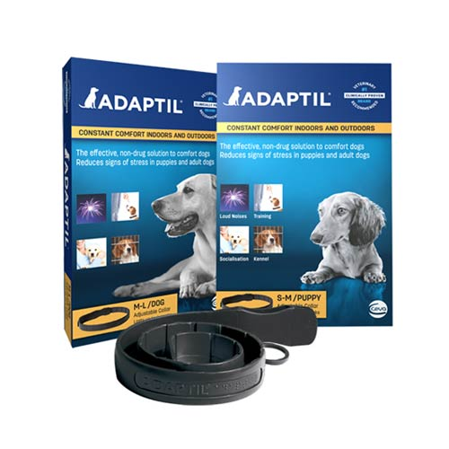 Collar de feromonas Anti Estres para perros Adaptil
