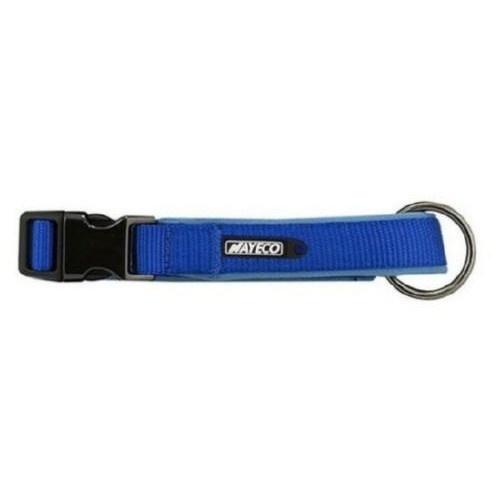 Collar Nayeco de neopreno azul para perros