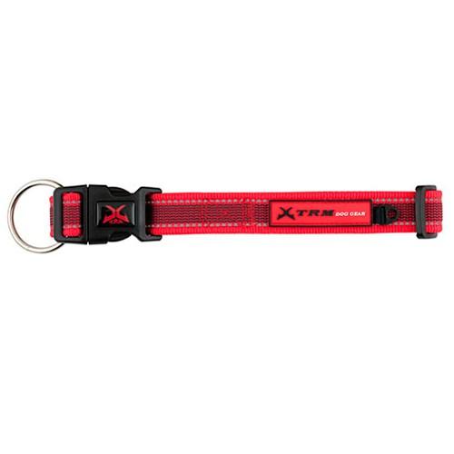 Collar de nylon para perros X-TRM Pro rojo
