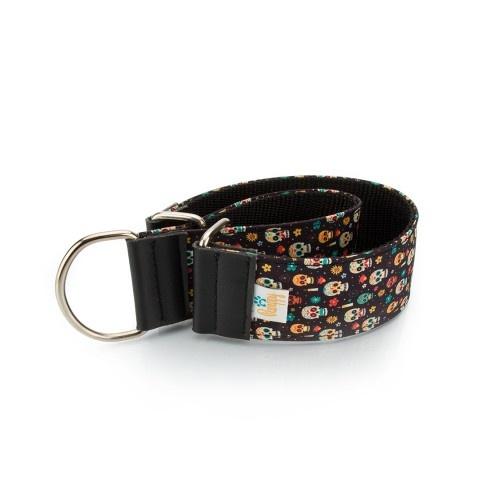 Collar Pamppy Galgo Speedy Calavera Mexicana para perros