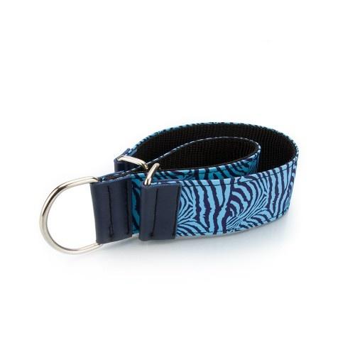 Collar Pamppy Galgo Speedy cebra Azul para perros