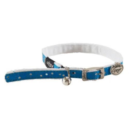 Collar para gatos azul Rogz Trendycat especial confort