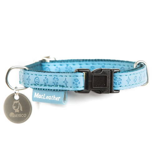 Collar para perros MacLeather Classic Color Azul