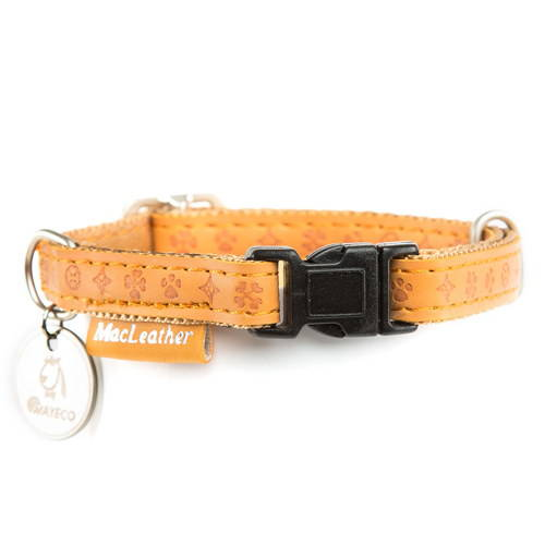Collar para perros MacLeather Classic Color Marrón