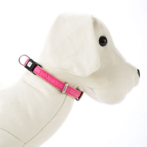 Collar para perros MacLeather Star Rosa