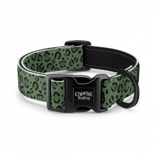Collar regulable CaponeTheDog estampado Animal print