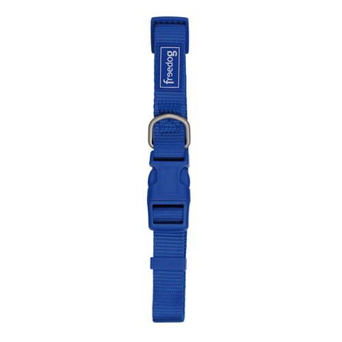 Collar regulable de colores nylon basic Color Azul