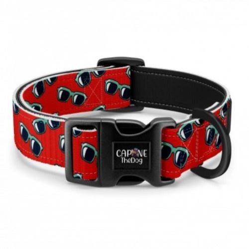 Collar regulable CaponeTheDog estampado Gafas