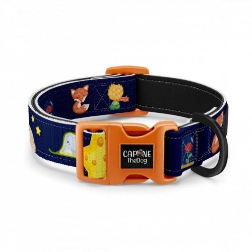 Collar regulable CaponeTheDog para perros estampado Principe