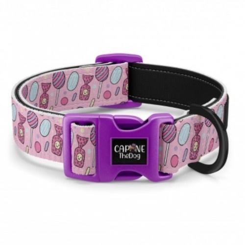 Collar regulable CaponeTheDog para perros estampado Sweet