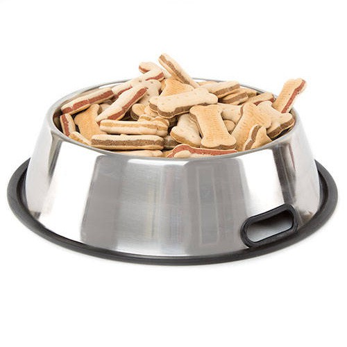 Non-magnetic stainless steel bowl