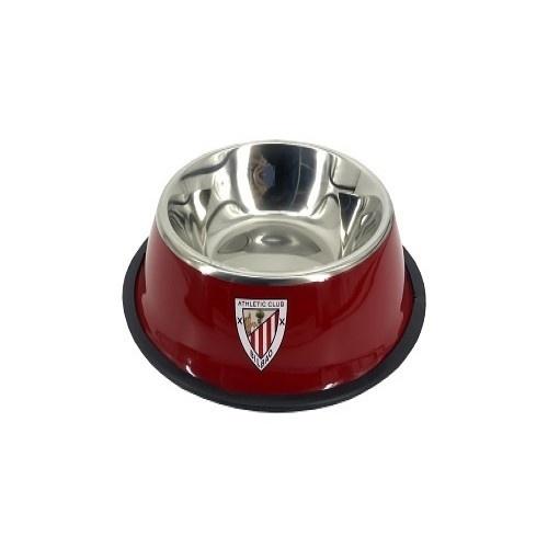 Comedero-bebedero para mascotas escudo Athletic Club color Rojo