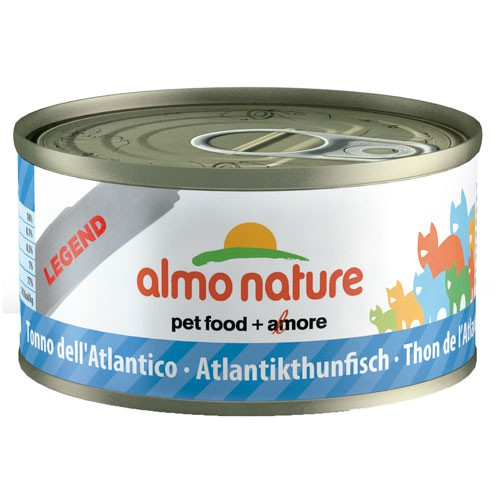 Comida húmeda de atún del Atlántico Almo Nature Legend
