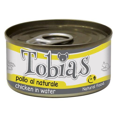 Comida húmeda natural de pollo Tobias perro