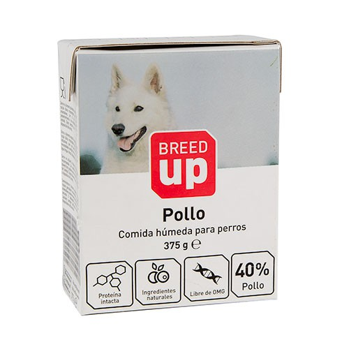 Breed Up chicken wet food for dogs