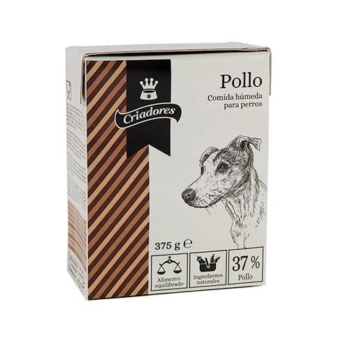 Comida húmeda para perros Criadores con sabor a pollo