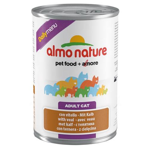 Comida húmeda con pato Almo Nature Daily Menu