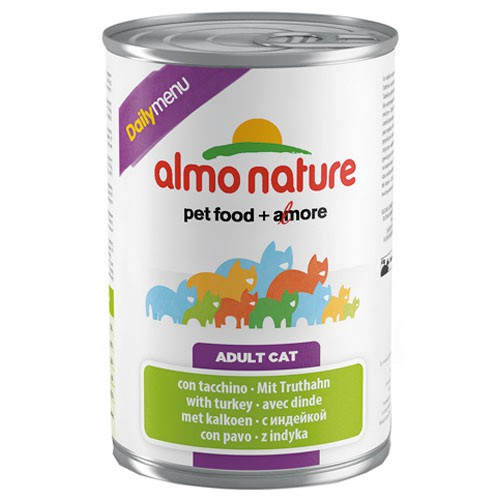 Comida húmeda con pavo Almo Nature Daily Menu
