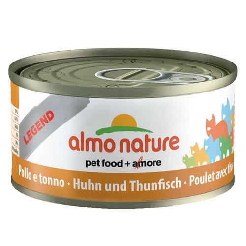 Comida húmeda de pollo y atún Almo Nature Legend