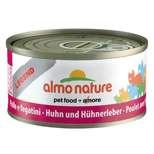 Comida húmeda de pollo y hígado Almo Nature Legend