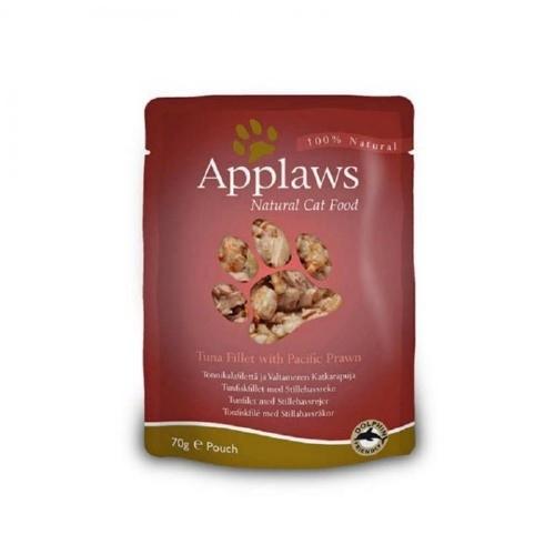 Comida húmeda Applaws atún con gambas