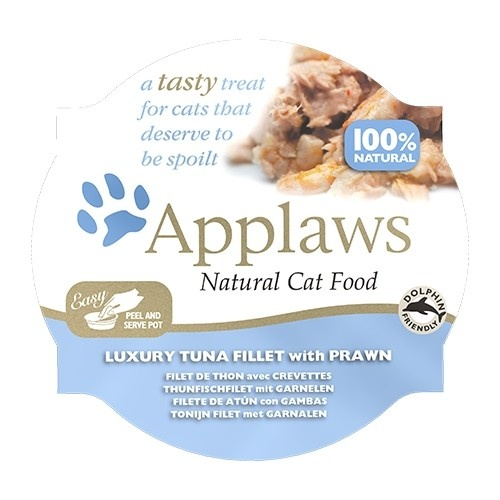 Comida húmeda para gatos Applaws Tasty con atún y gambas