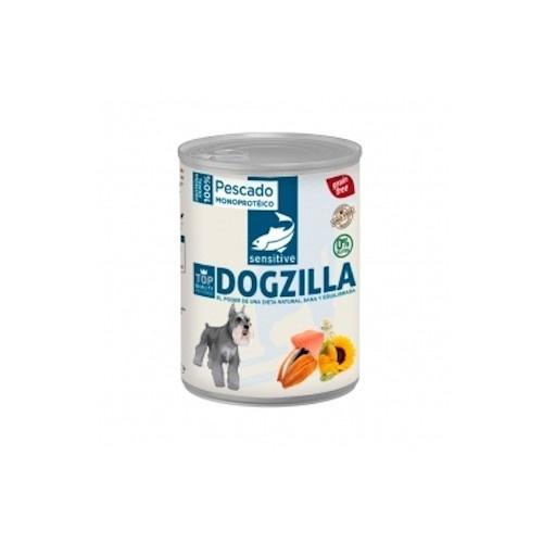 Comida húmeda para perro Lata Dogzilla de pescado 750gr