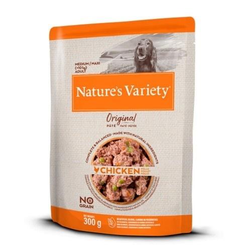 Comida húmeda para perros medianos Nature's Variety sin cereales