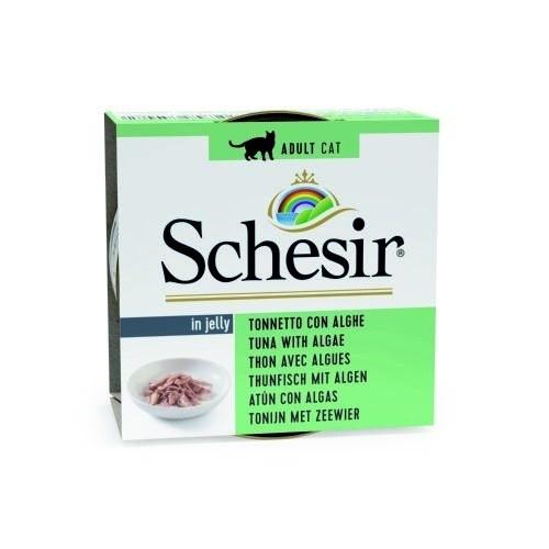 Comida húmeda Schesir atún con algas
