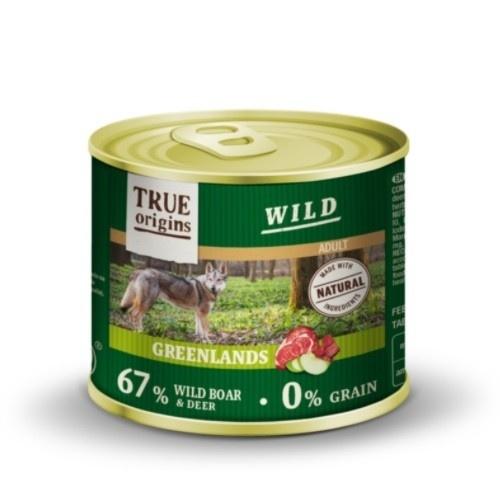 Comida húmeda True Origins Wild Adult Greendlands