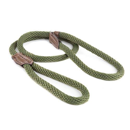 Correa para perros con collar de adiestramiento Forest color verde