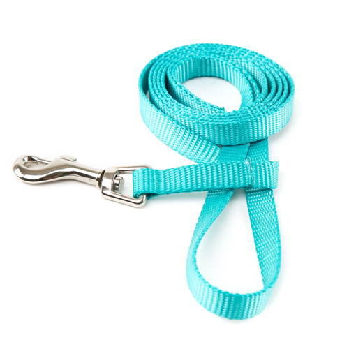 Correa para perros de nylon linea basic color aguamarina for Nylon para estanques
