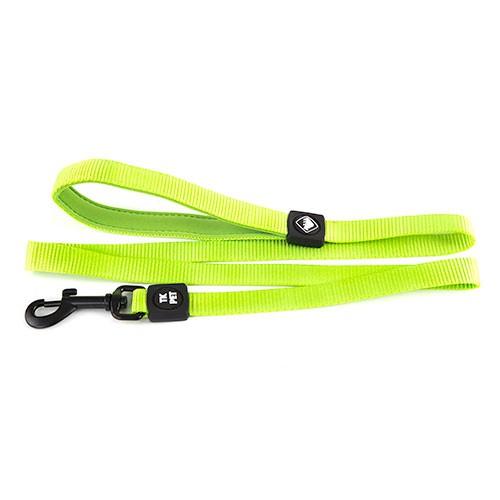 Correa para perros tk pet neo classic verde lima de nylon for Nylon para estanques