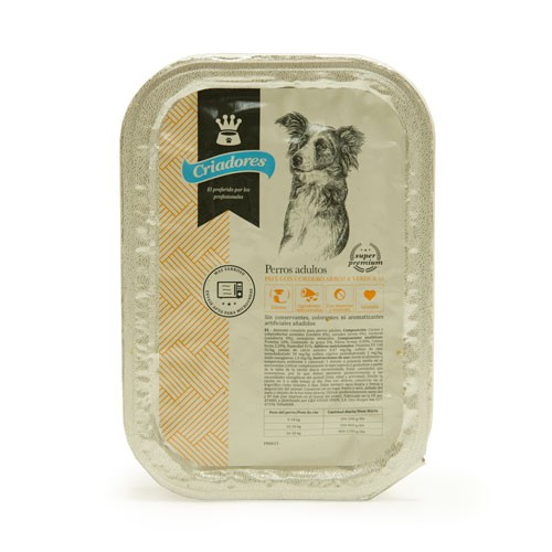 Criadores lamb pate tray for adult dogs