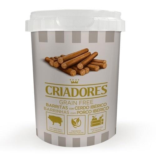 Criadores Barritas Grain Free con Cerdo ibérico