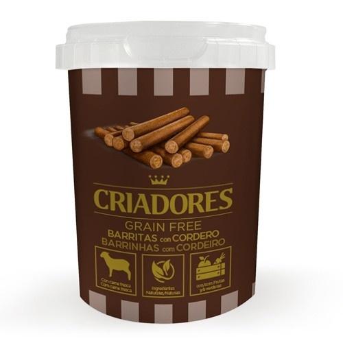 Criadores Barritas Grain Free con Cordero