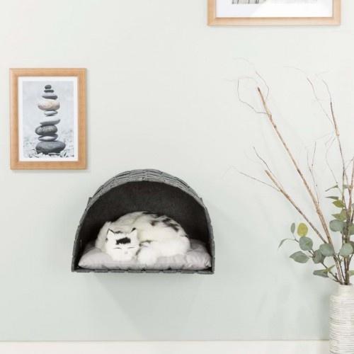 Cueva para gatos color Gris