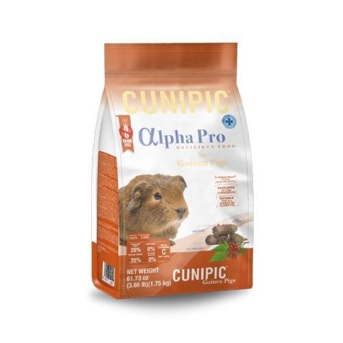 Cunipic Alpha Pro Guinea Pig pienso para cobayas Grain Free