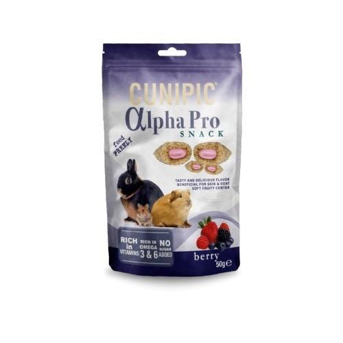 Cunipic Alpha Pro Snack Berry para roedores y conejos