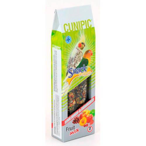 Cunipic Snack deluxe Barrita de semillas para agapornis y ninfas