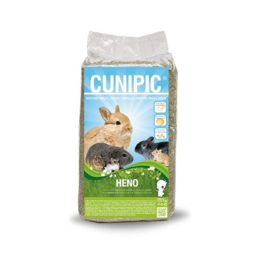 Cunipic Heno rico en fibra para roedores